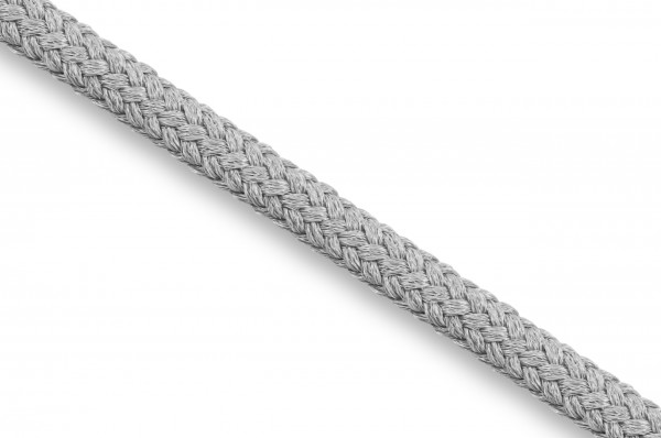 Round cord, Econyl® recycled, 4 mm, silver 316