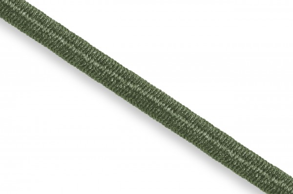 Elastic Econyl®cord, recycelt, 4 mm, olive 632