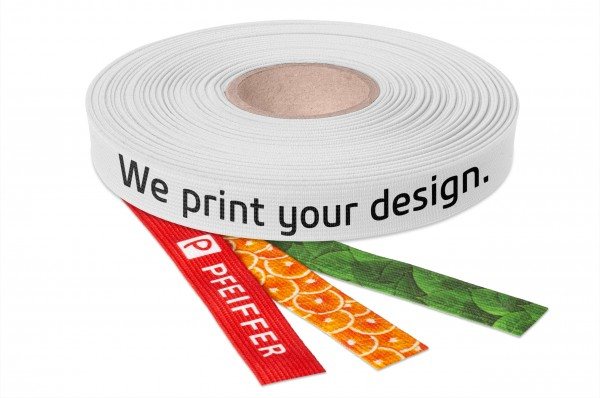 Elastic tape printed with your design