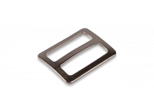 Metal slider, 20 mm, curved