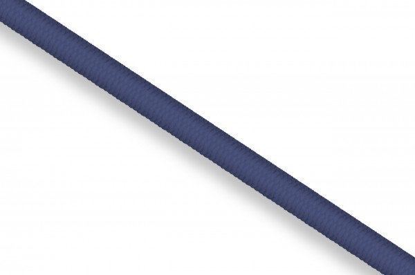 Rubber cord, 3 mm, navy