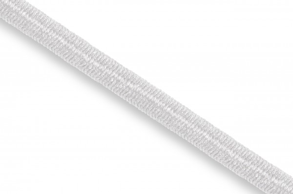 Elastic Econyl®cord, recycelt, 4 mm, white