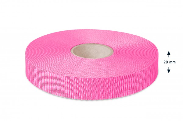 All-purpose webbing, light pink 47