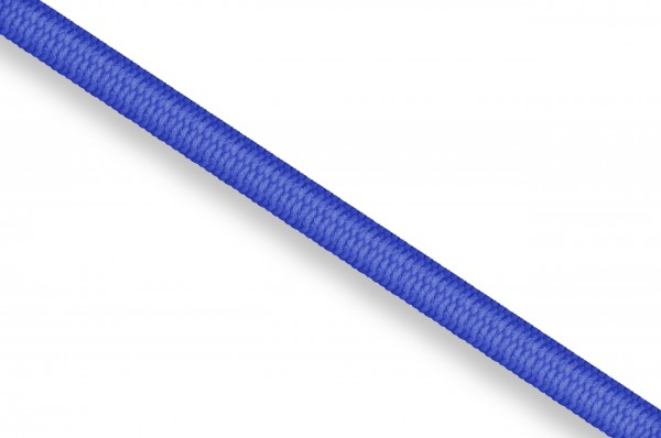 Rubber cord, 3 mm, royal blue