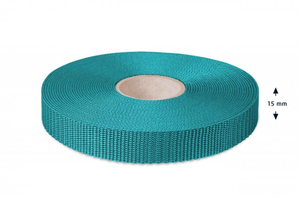 All-purpose webbing, turquoise 33
