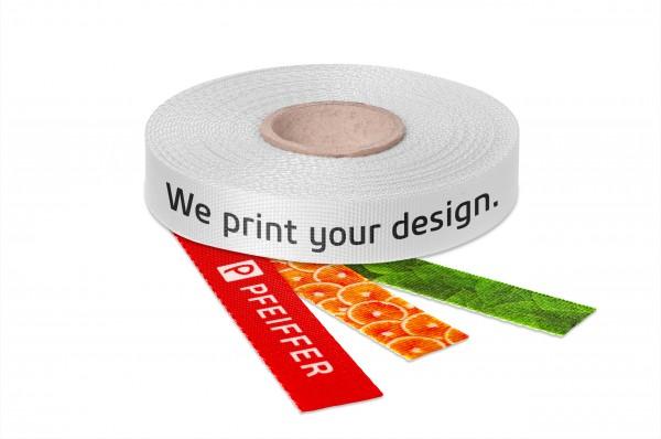 Strong PES webbing printed
