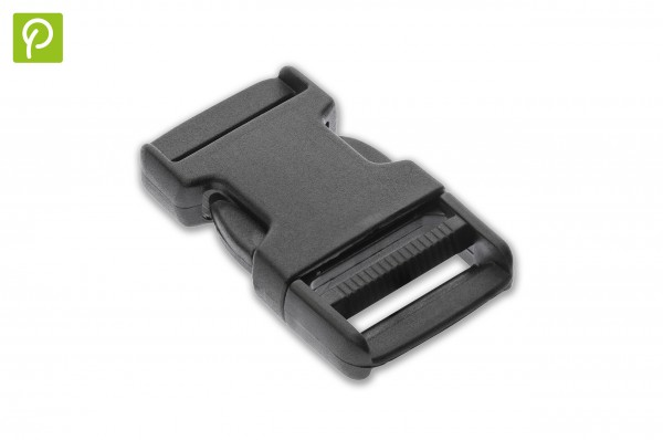 Side release buckle made of recycled plastic 40 mm