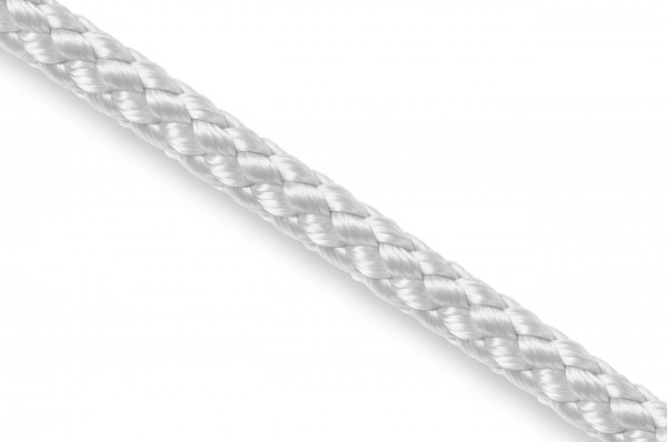 Round cord, polypropylene, 5 mm, white