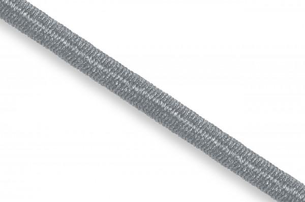 Elastic Econyl®cord, recycelt, 4 mm, silvergrey