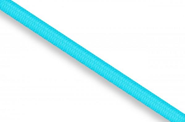 Rubber cord, 3 mm, ocean