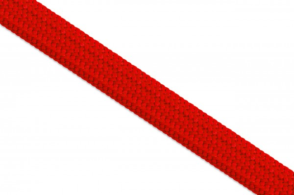 Hollow tube cord, 10 mm, red
