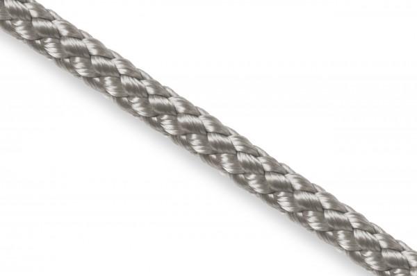 Round cord, polypropylene, 5 mm, silver grey