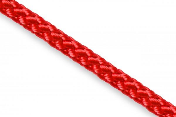 Round cord, polypropylene, 5 mm, red
