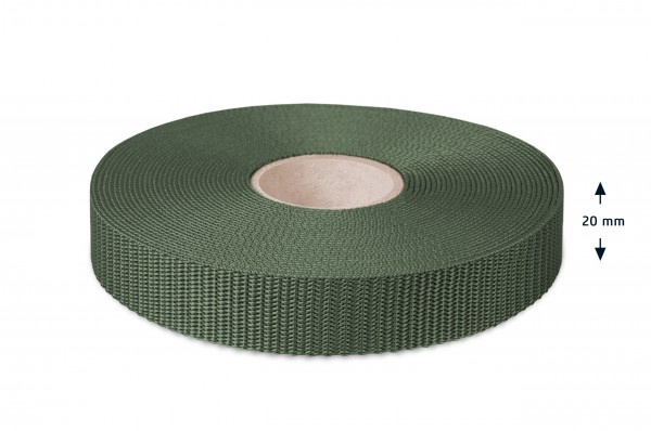 All-purpose webbing, olive 26
