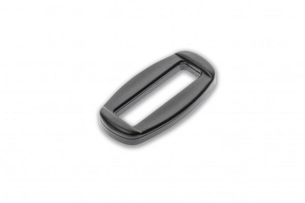 Oval ring, Nylon, 25 mm