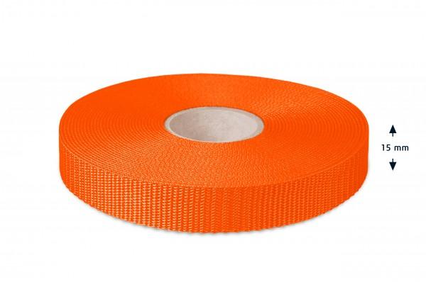All-purpose webbing, orange 9