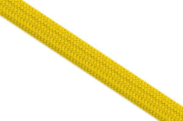 Hollow tube cord, 10 mm, yellow
