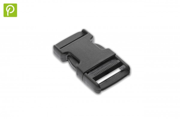 Side release buckle made of recycled plastic 30 mm