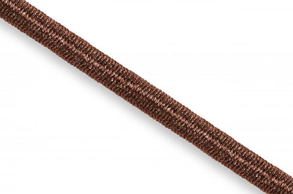 Elastic Econyl®cord, recycelt, 4 mm, brown
