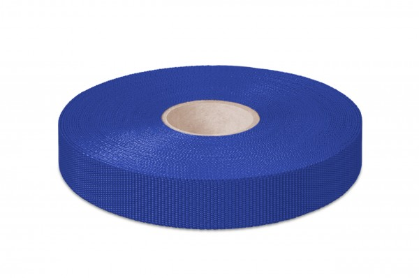 Non-elastic pp binding, royalblue, 18 mm