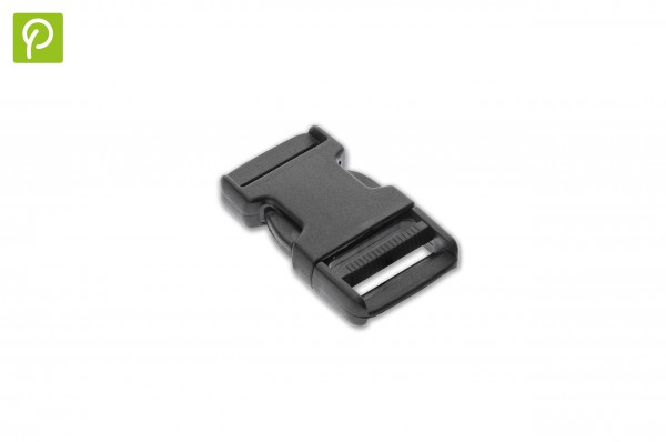 Side release buckle made of recycled plastic 25 mm