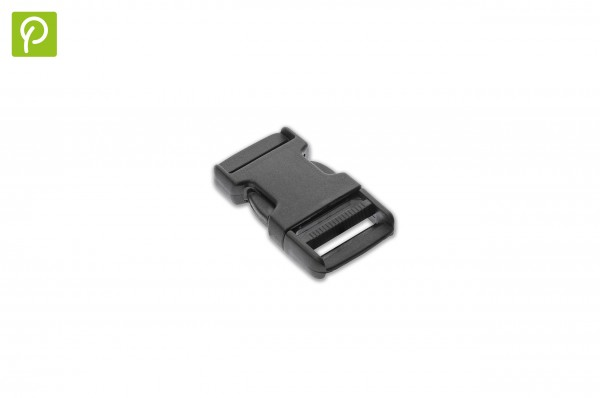 Side release buckle made of recycled plastic 20 mm