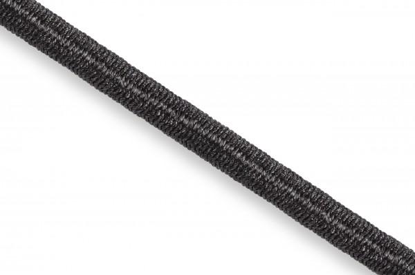 Elastic Econyl®cord, recycelt, 4 mm, black