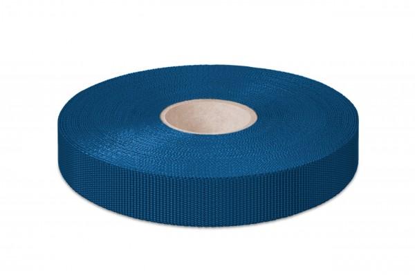 Non-elastic pp binding, navy, 18 mm