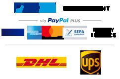 Payment & Shipment Logos