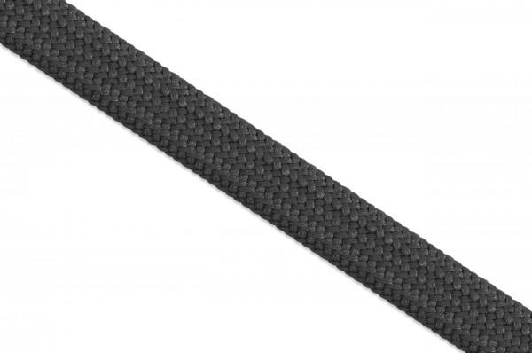 Hollow tube cord, 10 mm, black
