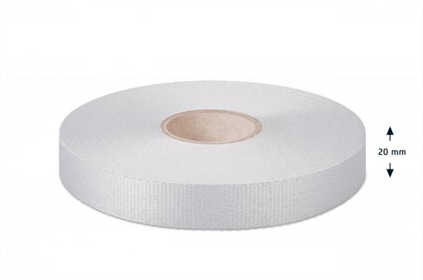 Gros grain ribbon, off-white, 20 mm